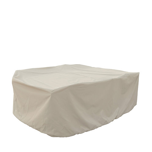"""Medium Oval/Rectangle Table and Chairs Cover: 72″W x 102""""D x 36""""H"""
