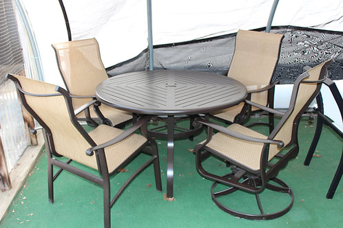 "5pc 48"" Round Sling Dining #29133"