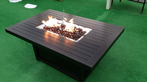 "50""Wide x 32""Deep Rectangle Propane Firepit"