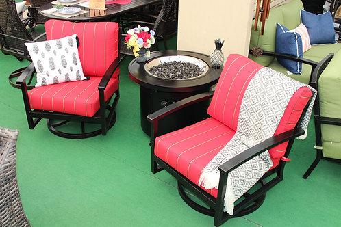 Swivel Club Chair #32160