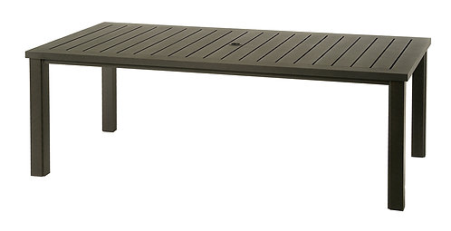 "84"" Rectangle Aluminum Table #35539"