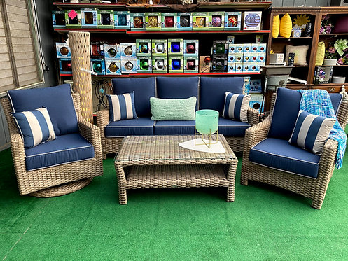 4pc Wicker Seating Group #32101