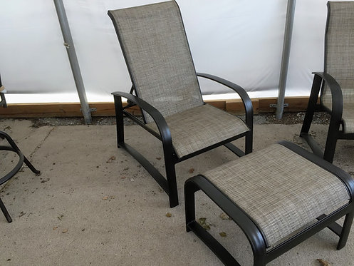 Outdoor Recliner with Ottoman #29088/29089