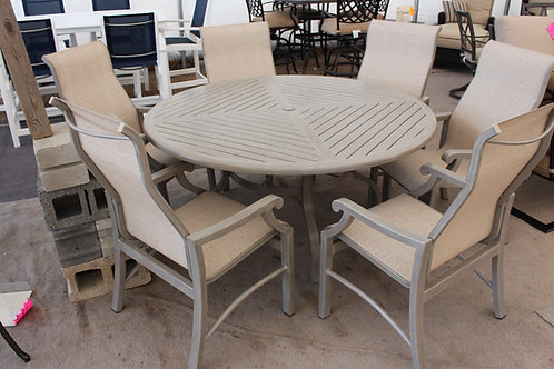 60in Round Sling Dining Set #26852