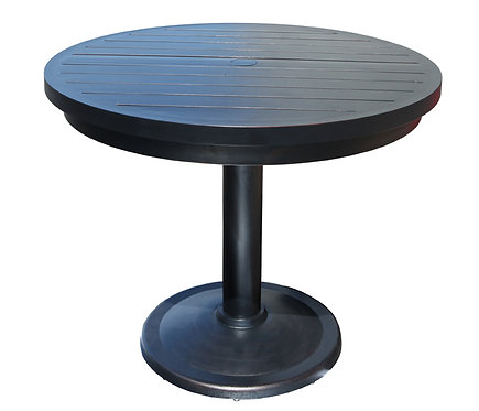 "30"" Round Umbrella Base Stand & Table #32054"