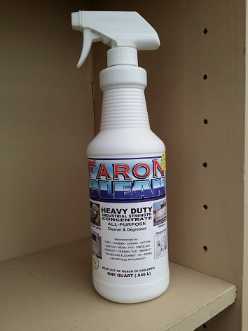 1 For All Cleaner Patio Furniture Aka Faron Clean 2 Pack Of 32oz Bottles