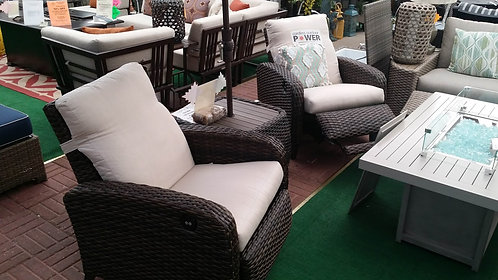 3pc Outdoor Power Recliner Group #30768