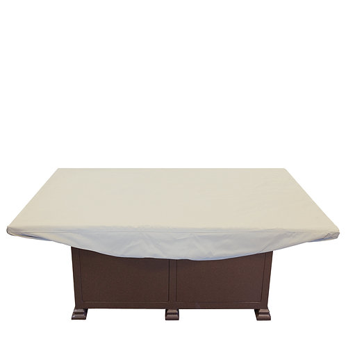 """Rectangle Firepit / Coffee Table/ Ottoman Cover: Measures: 59""""W x 39""""D x 12""""H"""