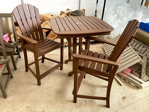 3pc POLYWOOD Counter Height Set (Order 3 Weeks)