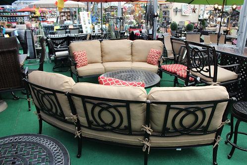 Curved Sofa  #39971