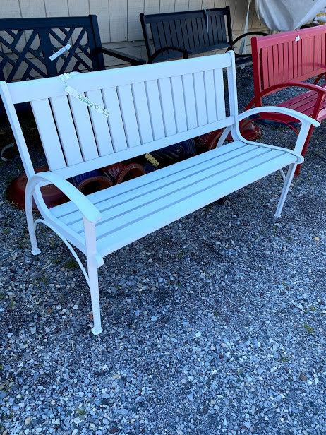 White Bench #30739