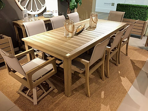 Faux Teak Furniture