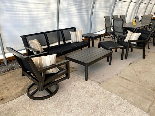 6pc Aluminum Sling Seating Group #32279