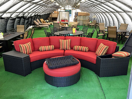 Curved Seating Groups