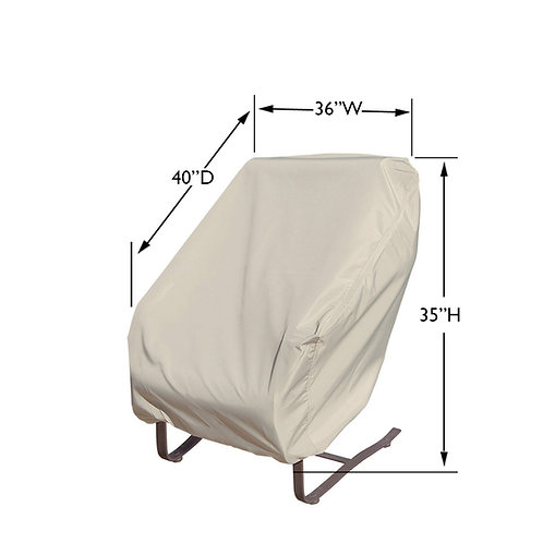 Large Club Chair Cover 36″ W x 40″ D x 35″ H