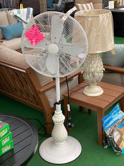 White/Cream Outdoor Fan #26589
