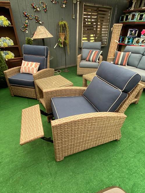 3pc Outdoor Recliner Group #32711