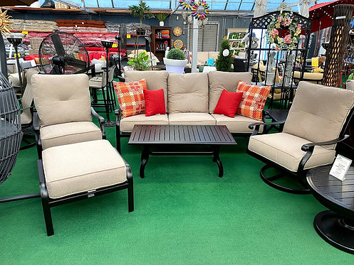 6pc Aluminum Seating Group #29160