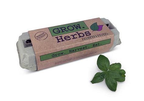 Grow Herbs Seed Kit