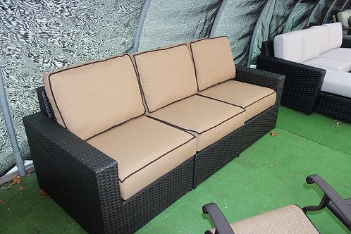 Resin Wicker Sofa #29125