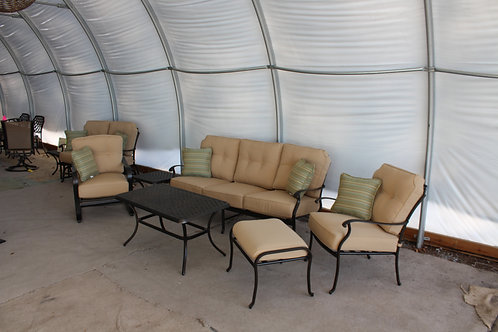 6pc Aluminum Seating Group #32479