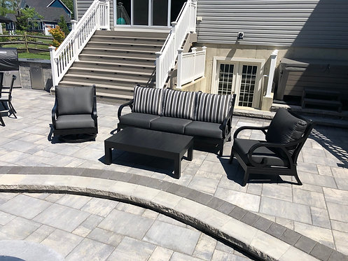 4pc Aluminum Seating Group #32191