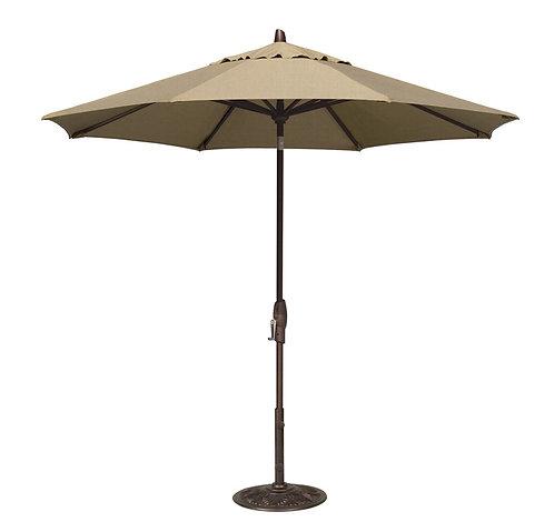 9ft Crank Tilt Umbrella