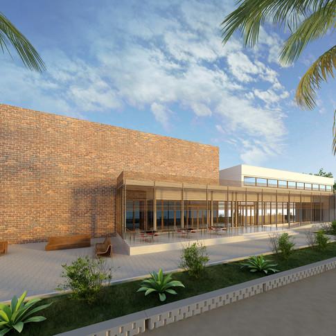 Uganda BM Merkezi Konferans Binası