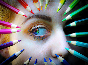 Look through life with rainbow coloured