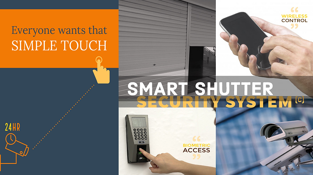 Smart Shutter Security System