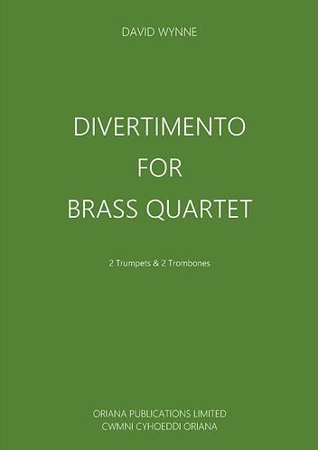 DAVID WYNNE - Divertimento for Brass Quartet