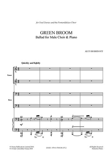 ALUN HODDINOTT: Green Broom