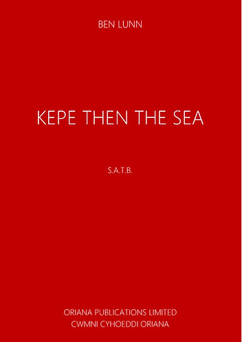 BEN LUNN: Kepe Then The Sea