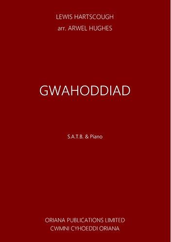 HARTSCOUGH arr.ARWEL HUGHES: Gwahoddiad