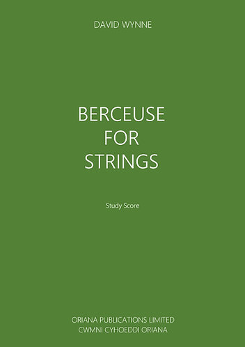 DAVID WYNNE: Berceuse for Strings