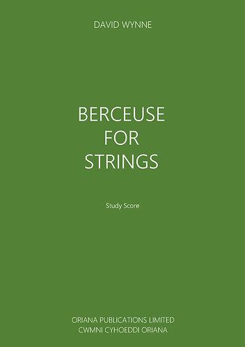 DAVID WYNNE - Berceuse for Strings