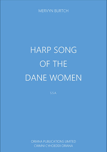 MERVYN BURTCH - Harp Song of the Dane Women