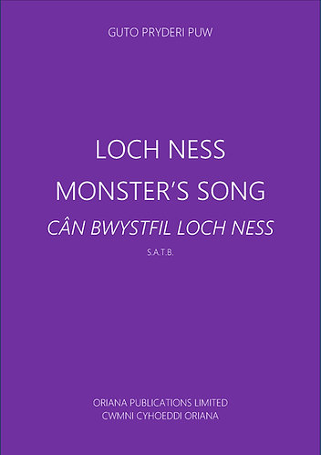 GUTO PUW:The Loch Ness Monster's Song