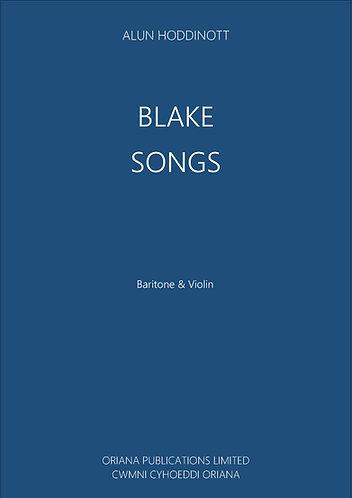 ALUN HODDINOTT - Blake Songs