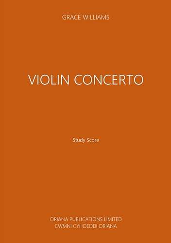 GRACE WILLIAMS: Violin Concerto