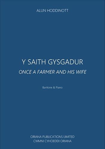 ALUN HODDINOTT: Saith Gysgadur (Once a Farmer and his Wife)