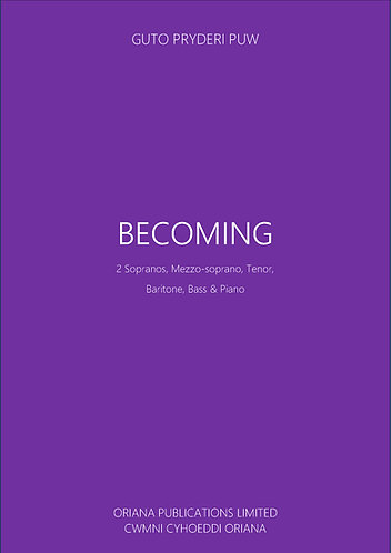 GUTO PUW: Becoming