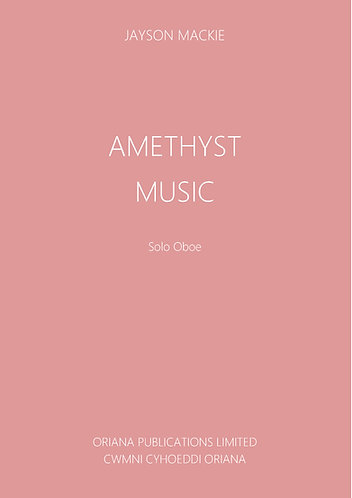 JAYSON MACKIE: Amethyst Music