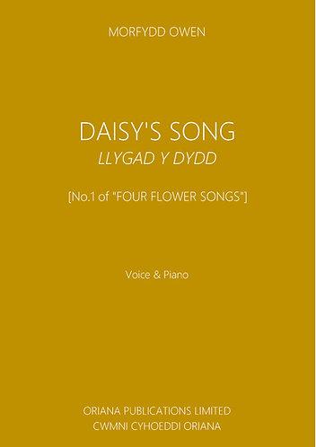 MORFYDD OWEN: Daisy's Song/Llygad y Dydd