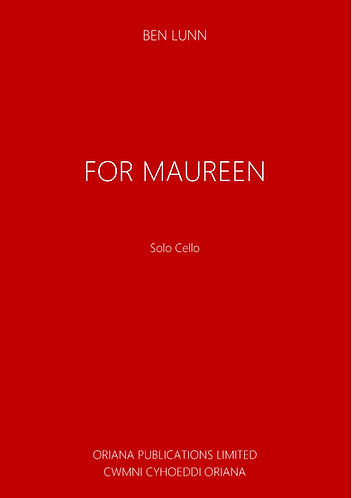BEN LUNN: for Maureen