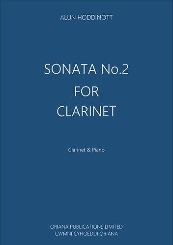 ALUN HODDINOTT: Clarinet Sonata No.2