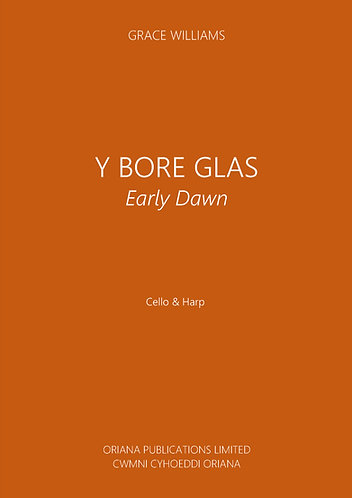 GRACE WILLIAMS: Y Bore Glas