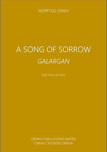 MORFYDD OWEN: A Song of Sorrow/Galargan