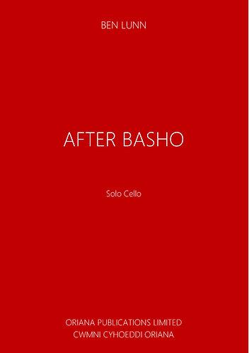 BEN LUNN: After Basho