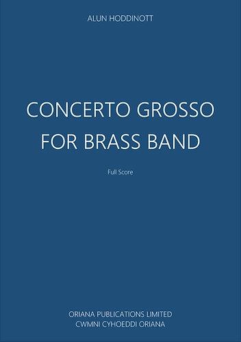 ALUN HODDINOTT: Concerto Grosso for Brass Band